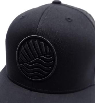 casquette sphere noir peche